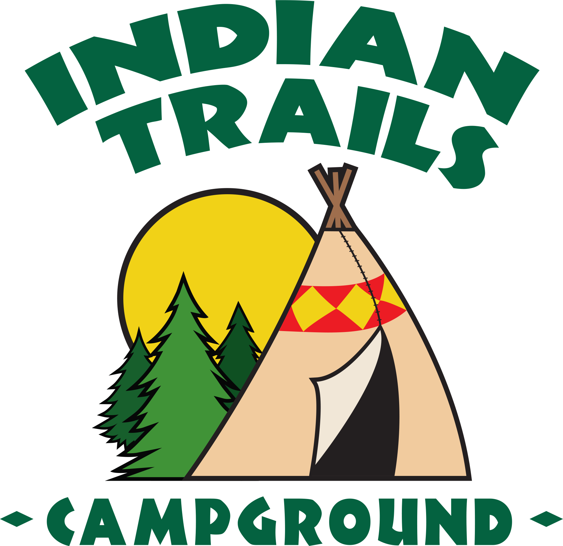 Indian Trails Campground logo
